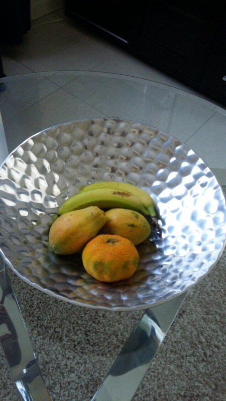 Welcome package of Jamaican treats and fruits to help you get settled.