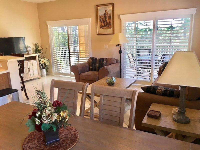 Open soggiorno-sala da pranzo