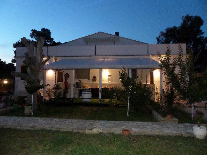 Villa Soleanna Residence, Bilocale Cielo, location de vacances à Coppitella