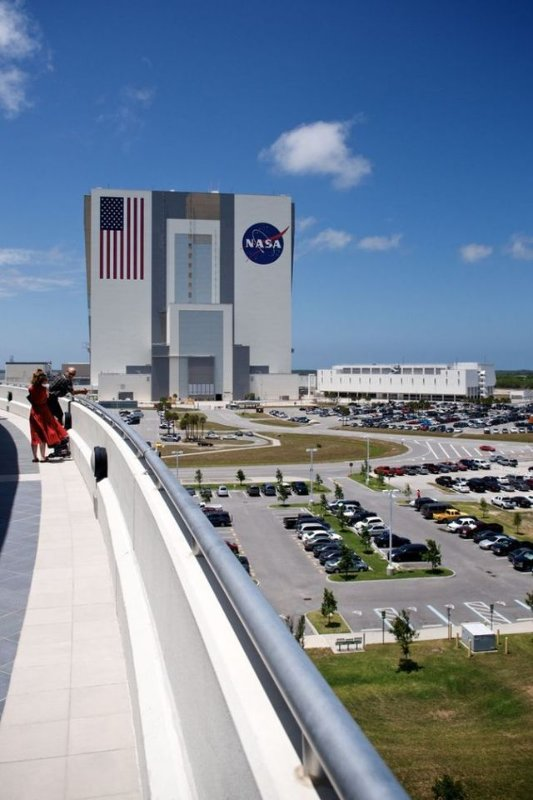 Kennedy Space Center is 25 minutes from the condo