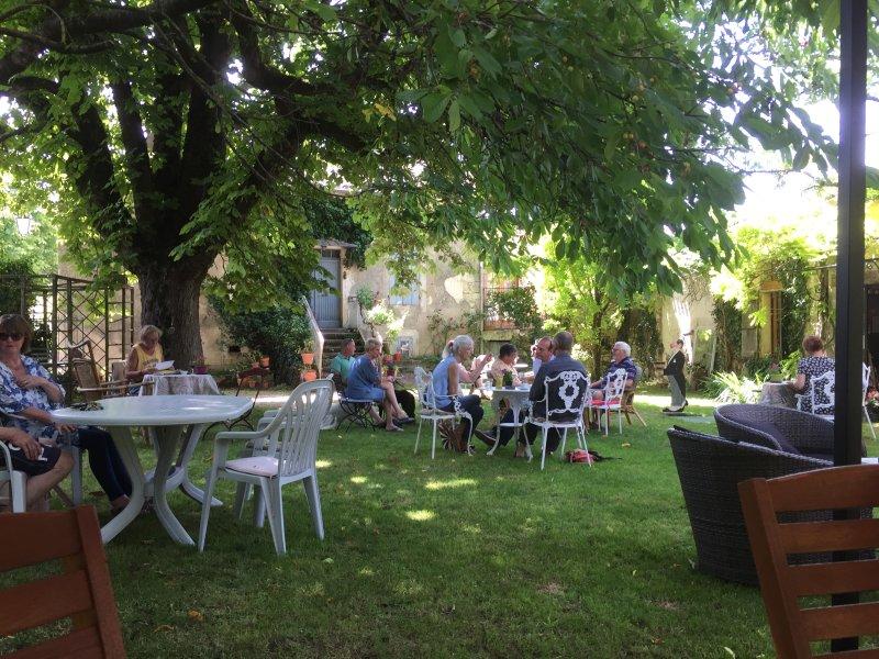Local garden restaurant