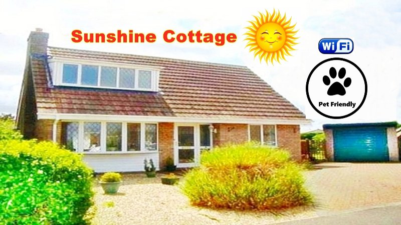 3 Bed holiday cottage, near Beach, shops & attractions