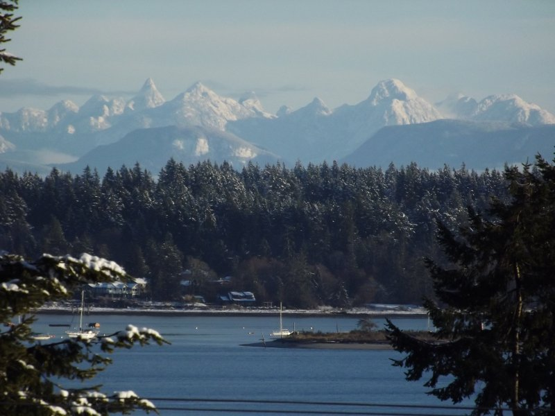 winter in the Comox Valley at Royston