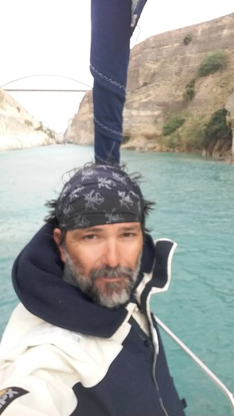 Me at Corinth Canal