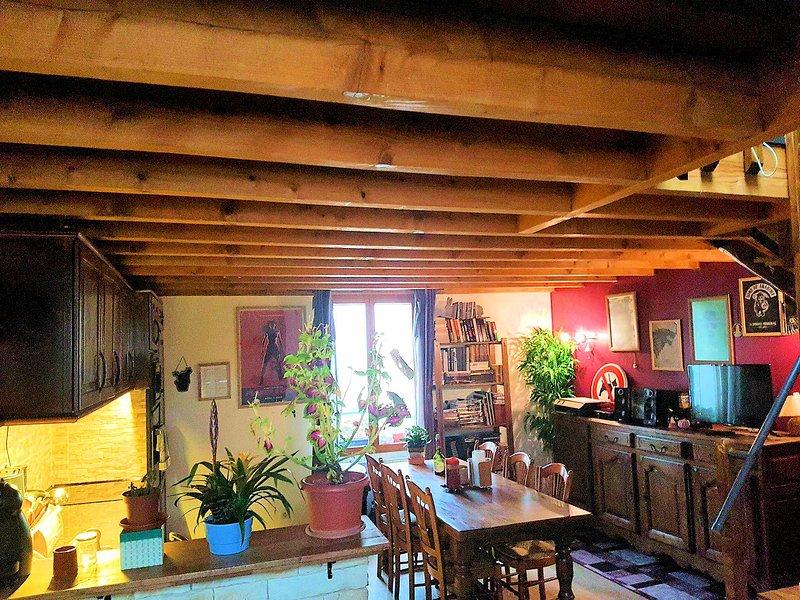 La sala de estar / cocina