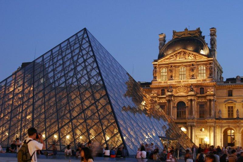 El Louvre, 30mn por el transporte