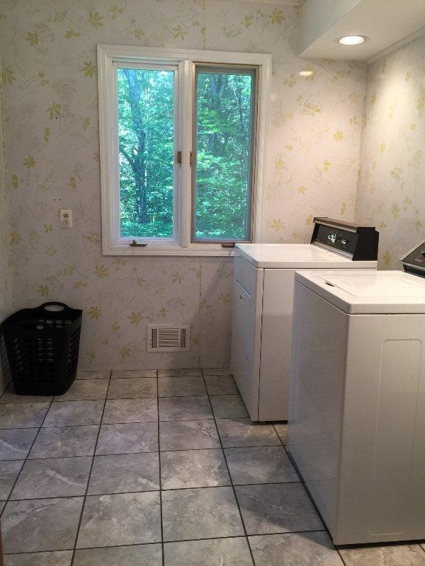 Second floor laundry room
