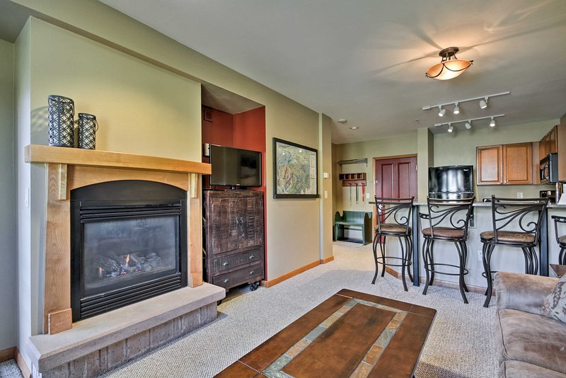 An unforgettable alpine getaway awaits you at this lovely vacation rental condo in Winter Park!