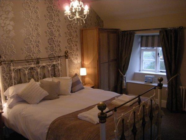 Get a good night's sleep in the master bedroom