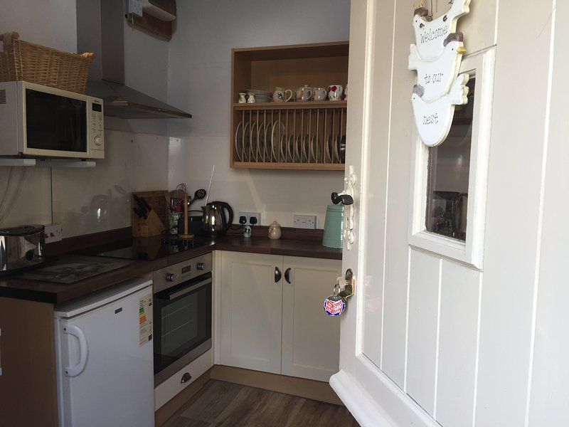 new kitchen in The Nest