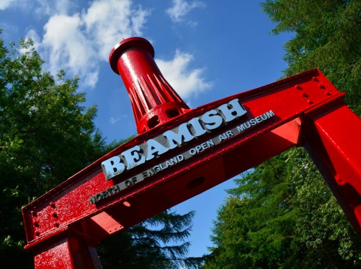 The famous Beamish Museum only is only a 15 minute walk away