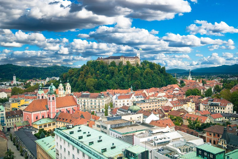 Slovenia's capital Ljubljana is a 40 minute drive from the apartment.
