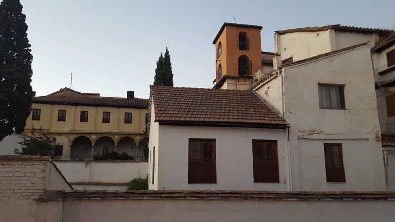 Vistas al Convento de Santa Catalina, en frente del apartamento.
