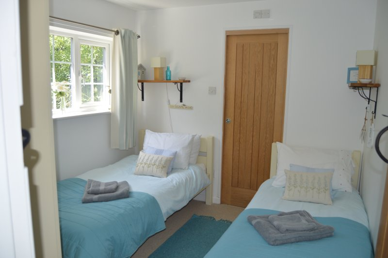 Twin bedded room - ground floor with en suite.