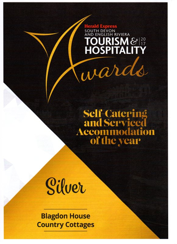 We are South Devon Silver award winners.