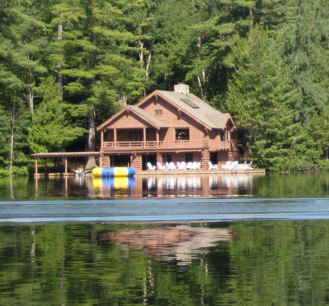 A Unique Lakefront Adirondack Great