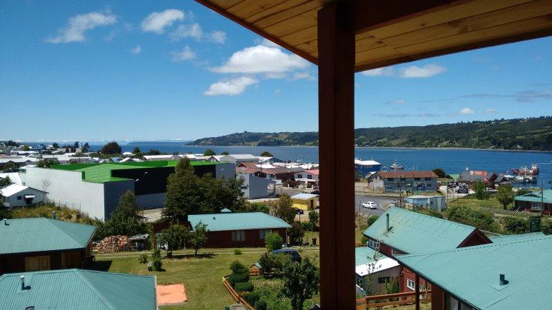 Cabañas VISTALMAR, alquiler vacacional en Isla de Chiloé