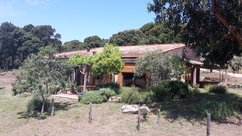 Maison ossature bois 8 personnes, holiday rental in Tizzano
