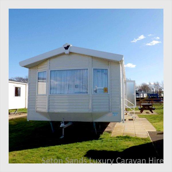 Seton Sands Luxury Caravan Hire, casa vacanza a Longniddry
