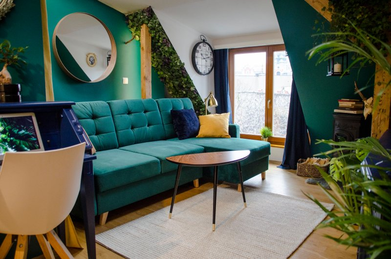 Cozy apartment at the attic with panoramic view, casa vacanza a Greater Poland Province