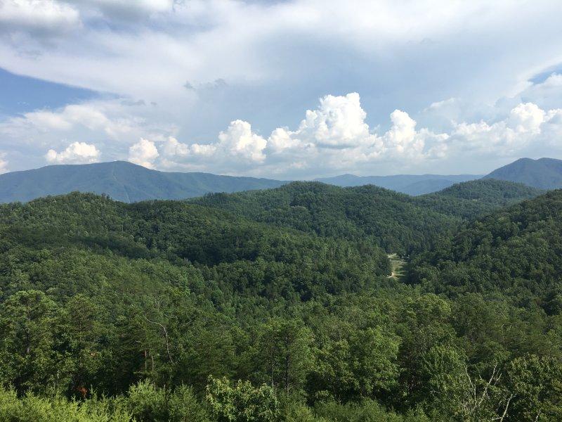 Smoky Mountain National Park view