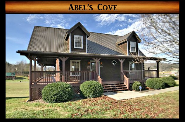 Abel's Cove - front of cabin