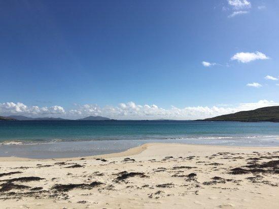 Côté ouest de la plage de Harris