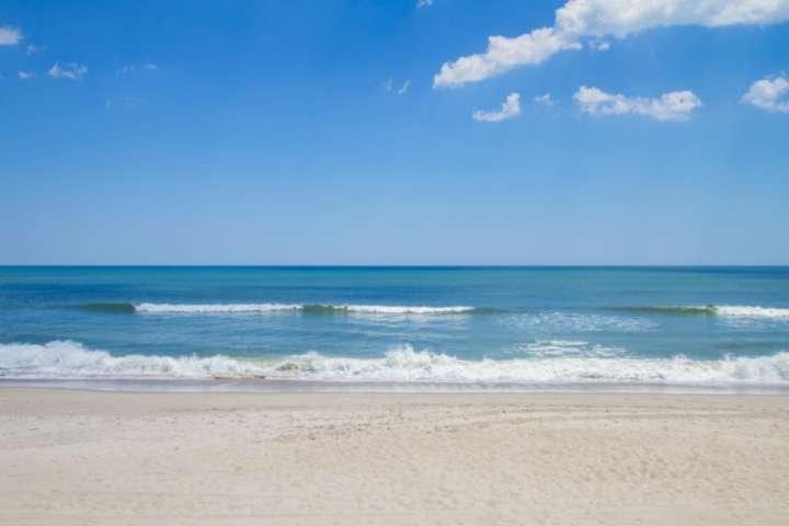 Fatti un tuffo in questo bellissimo oceano blu.