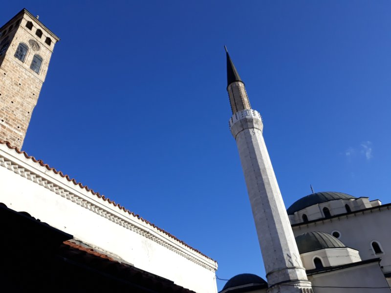 Gazi Husrev Bey's Mosque 5 min walk
