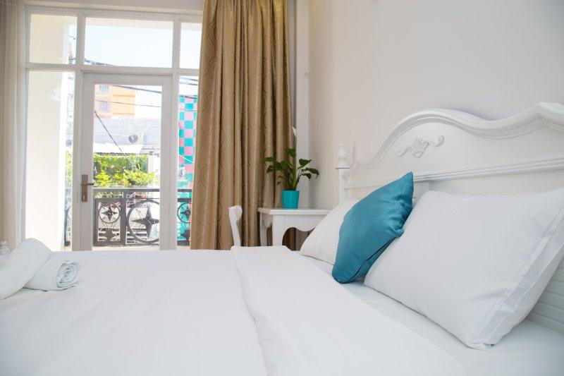 Bella e di lusso camera da letto per voi e la vostra famiglia