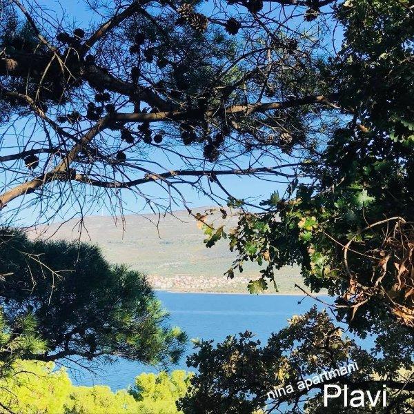 Ferienwohnung 4207-1 für 2+1 Pers. in Karin Gornji, casa vacanza a Donji Karin