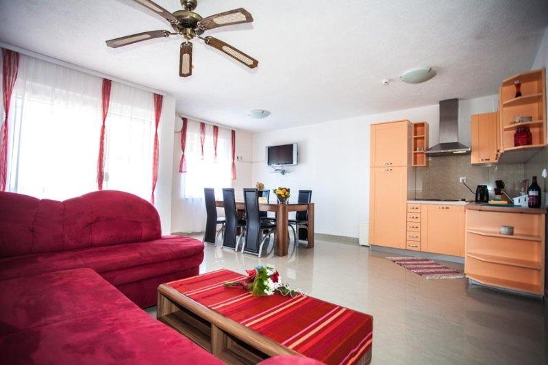 Ferienwohnung 4141-5 für 6 Pers. in Zaton (Zadar), location de vacances à Zaton