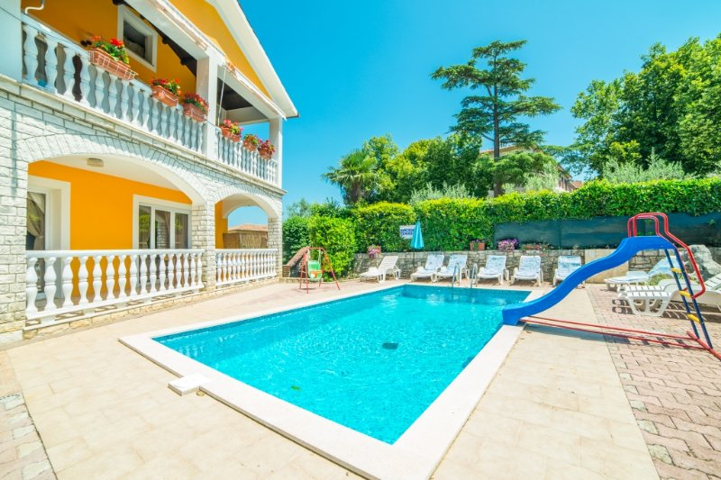 Apartment 580-1 for 2 Pers. in Nedescina, holiday rental in Nedescina