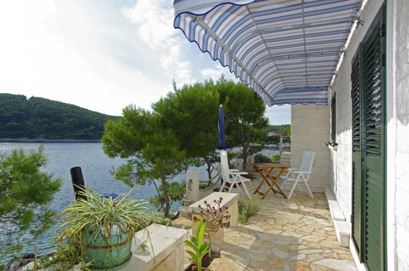 Apartment 39-2 for 4 Pers. in Tri Porte (Potirna), vacation rental in Blato