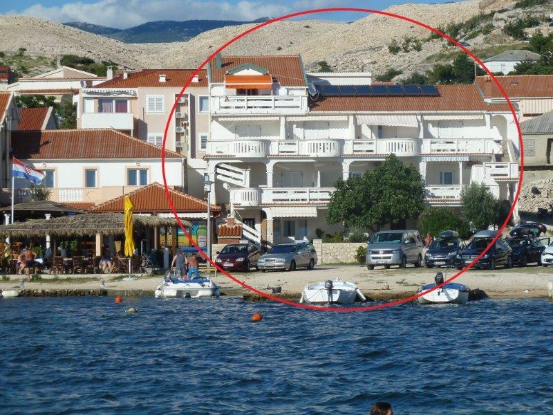 Ferienwohnung 3589-5 für 4 Pers. in Kustici, vacation rental in Kustici