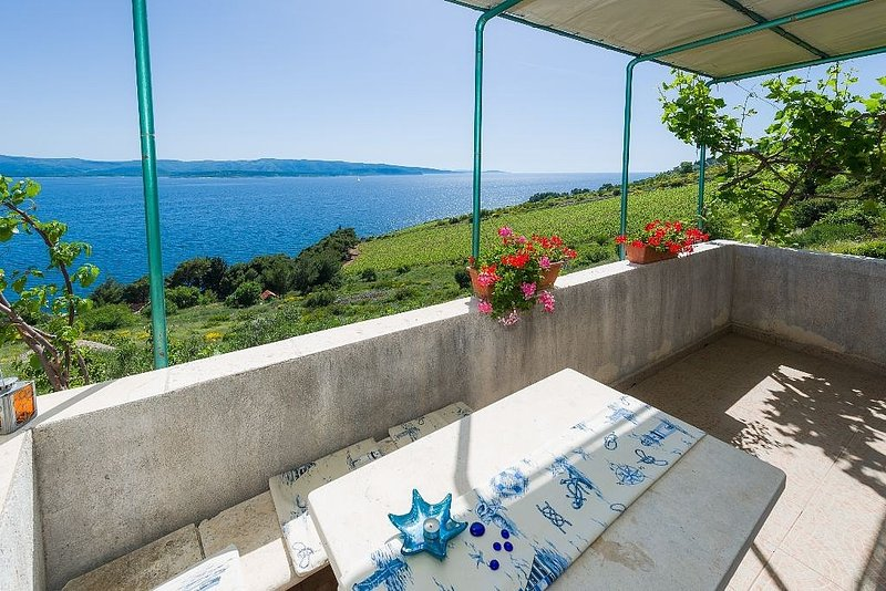 Apartment 146-4 for 4 Pers. in Murvica, vacation rental in Murvica
