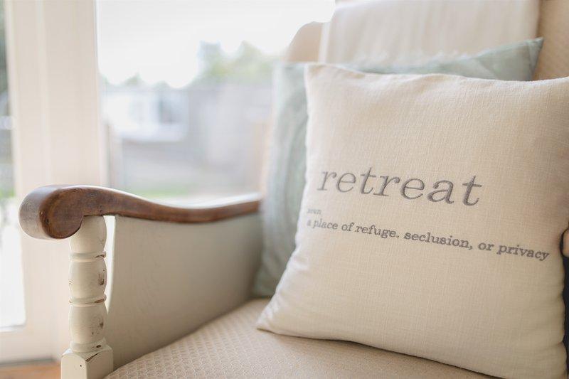 Dieses Kissen sagt alles .... dieses Hotel ist wirklich ein Rückzug ist.