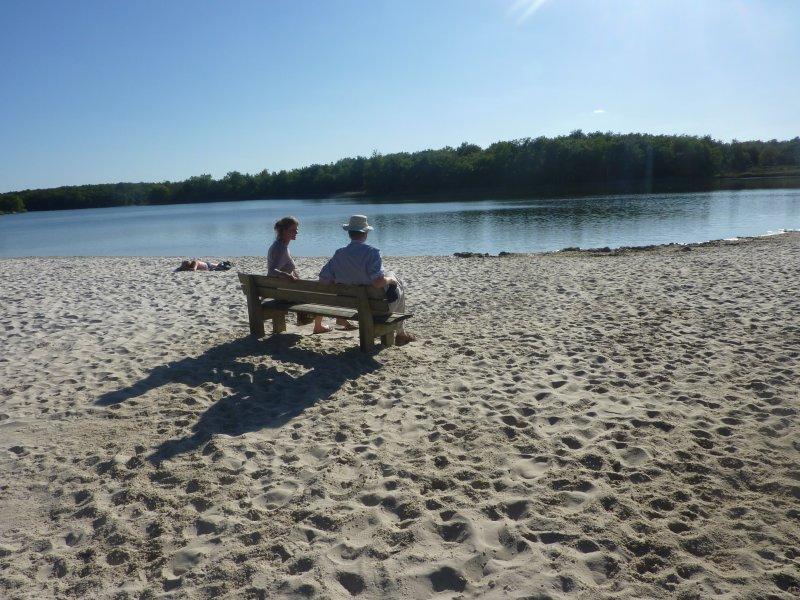 Le lac « La Jamaye » près de « La Croix »