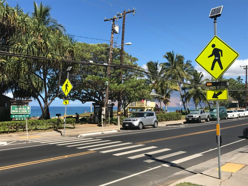 Safe, Monitored Crossing to Kam II Beach