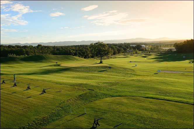 campo de golf increíble