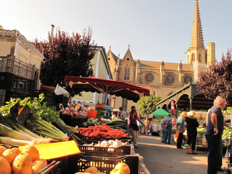 Mirepoix our local town just 3kms. Market, Cathedral. Festivals, Food & Fun