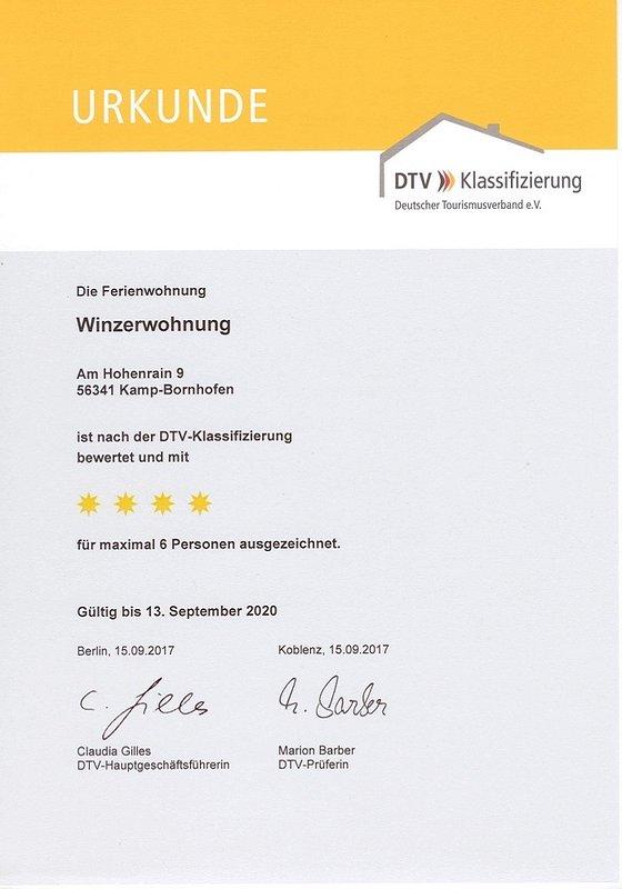 4 étoiles DTV