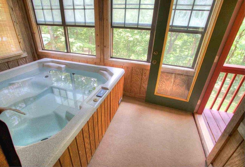 Hot Tub naar Porch Back