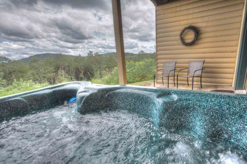 Relax in the Hot Tub While Looking at the View