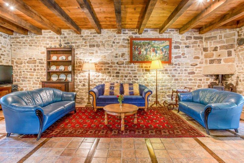 Bourbonne-les-Bains Chateau Sleeps 8 - 5049749, location de vacances à La Roche-Morey