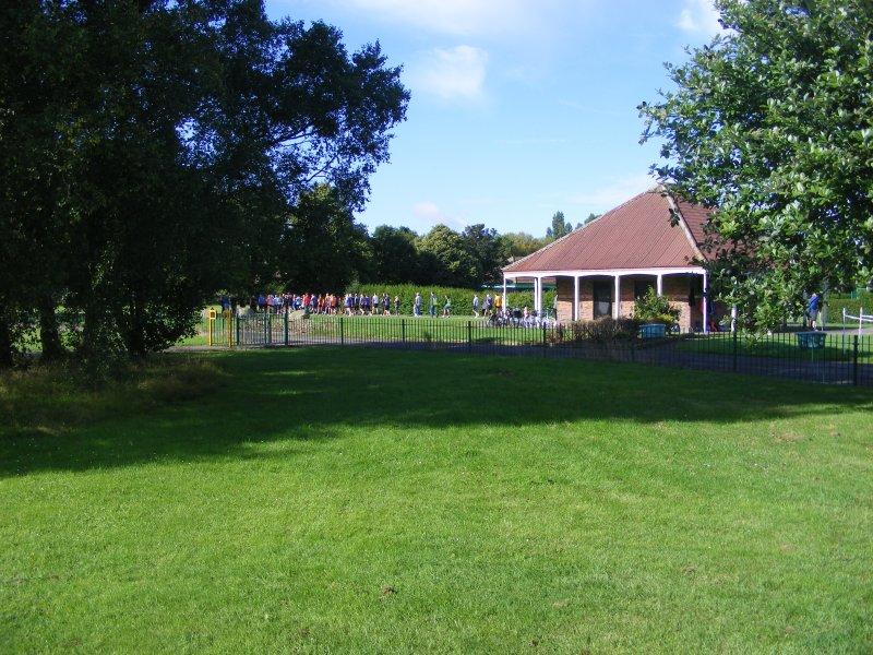 Les parcs sont 200yds de la propriété et étendent presque un mile