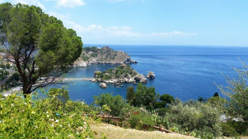 Isola Bella - Taormina a 8 millas de la Villa