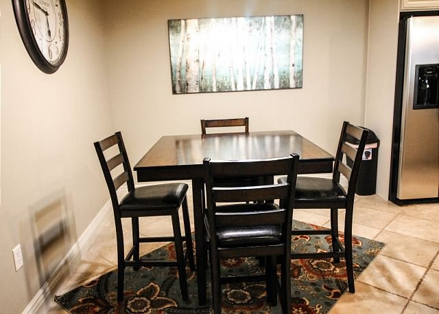 Dining Room Table in Kitchen Area