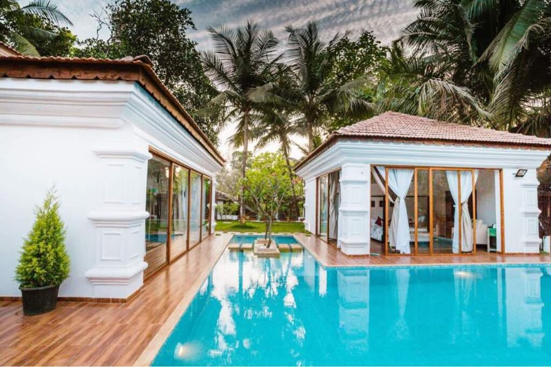 Luxurious Private 4bhk Villa with Swimming pool - Bonita Vivenda, holiday rental in Calangute