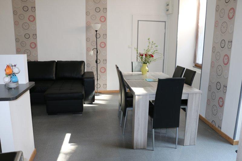 Sala de estar Comedor 6 asientos